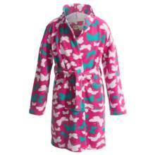 Hatley Microfleece Cozy Robe (For Kids) in Butterflies - Closeouts