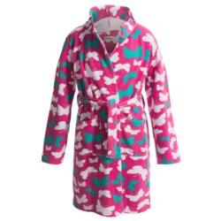 Hatley Microfleece Cozy Robe (For Kids) in Butterflies