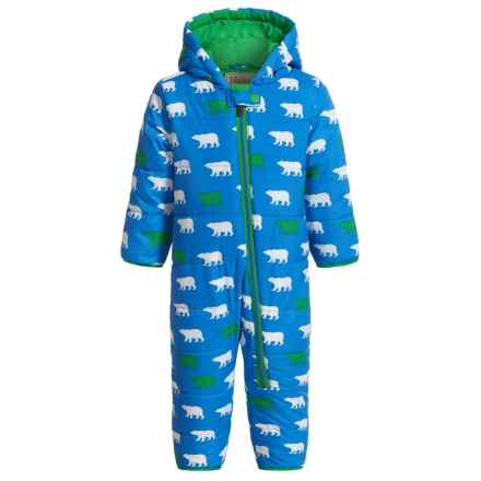 Hatley Mini Winter Puffer Snowsuit - Insulated (For Infants and Toddlers) in Roaming Polar Bears - Closeouts