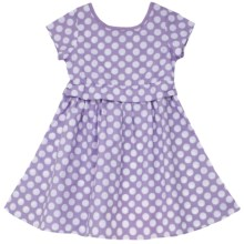 Hatley Party Dress - Short Sleeve (For Girls) in Bikes - Closeouts
