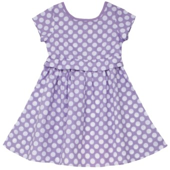 Hatley Party Dress - Short Sleeve (For Girls) in Bikes