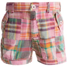 Hatley Pocket Bloomer Shorts (For Little Girls) in New Madras - Closeouts