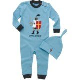 Hatley Printed Coverall with Hat (For Infants)