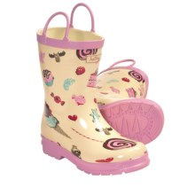 Hatley Rubber Boots - Waterproof (For Kids) in Candy - Closeouts