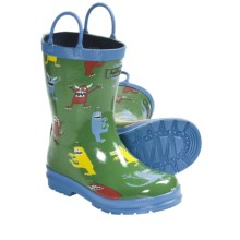 Hatley Rubber Boots - Waterproof (For Kids) in Monsters - Closeouts