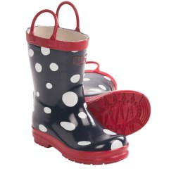 Hatley Rubber Boots - Waterproof (For Kids) in Snow Balls