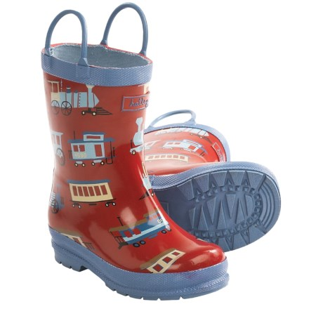 Hatley Rubber Boots - Waterproof (For Kids) in Trains