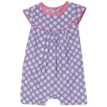 Hatley Ruffled Shortalls - One-Piece (For Infant Girls) in Bikes - Closeouts