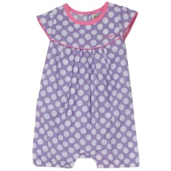 Hatley Ruffled Shortalls - One-Piece (For Infant Girls) in Summer Strawberries