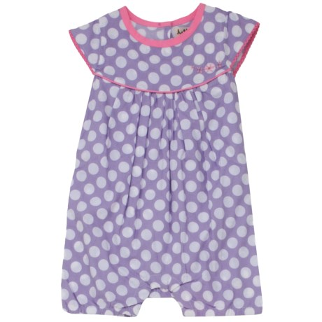 Hatley Ruffled Shortalls - One-Piece (For Infant Girls) in Bikes