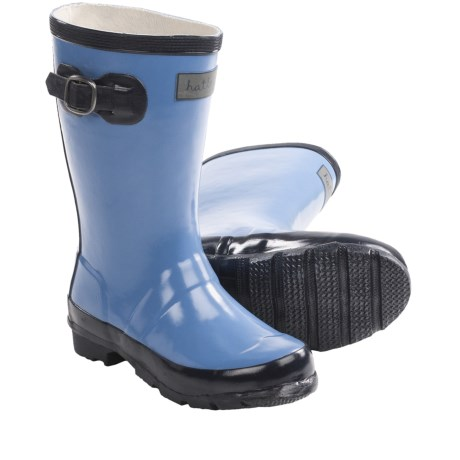 Hatley Splash Rubber Rain Boots (For Kids and Youth Girls) in Nordic Rain Drops
