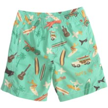 Hatley Swim Trunks (For Boys) in Surf - Closeouts