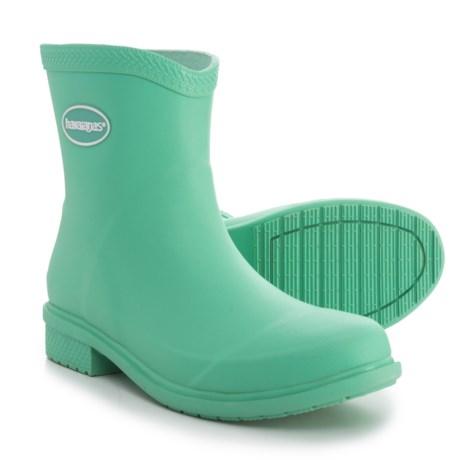 Havaianas Galochas Low Matte Rain Boots - Waterproof (For Women) in Light Green
