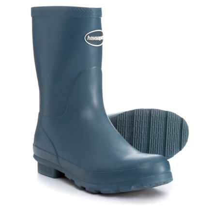 Havaianas Helios Mid Rain Boots (For Women) in Misty Blue - Closeouts
