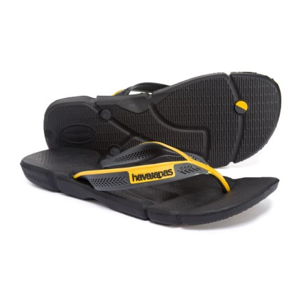 b4e03c594e5f5c Havaianas Power Flip-Flops (For Men) in Black Dark Grey - Closeouts