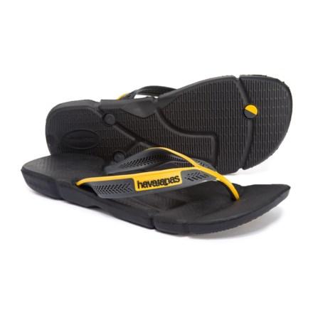 6be18153d2afe Havaianas Power Flip-Flops (For Men) in Black Dark Grey - Closeouts