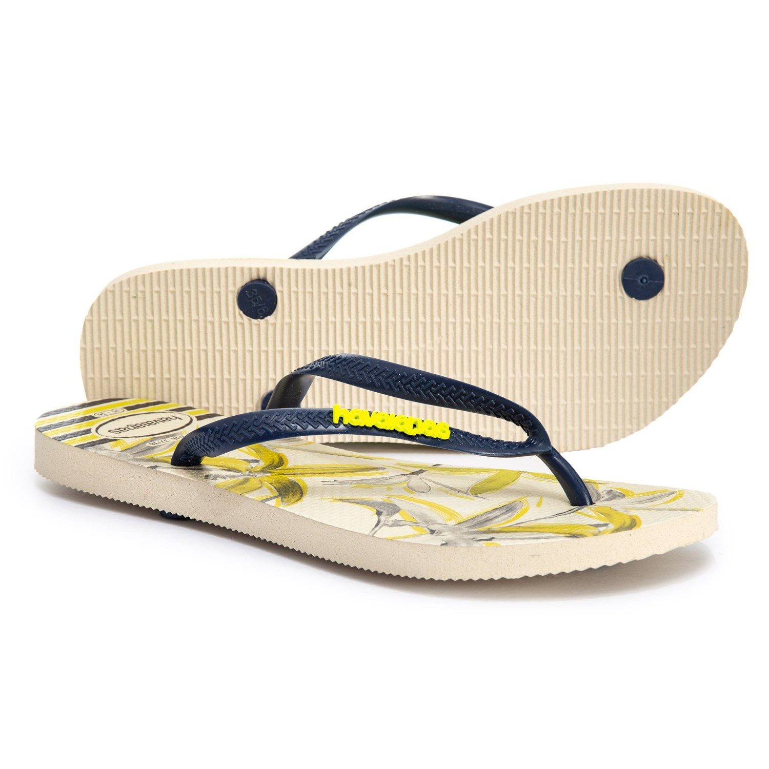 33a8e0f3275 Havaianas Slim Tropical Flip-Flops (For Women)