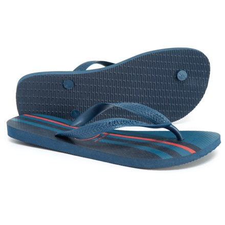 a1b3f9c89f2380 Havaianas Top Basic Flip-Flops (For Men) in Navy - Closeouts