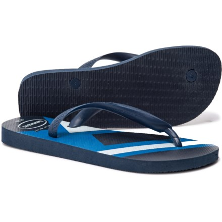 bc3ad26fa958 Havaianas Top Trend Flip-Flops (For Men) in Navy White - Closeouts