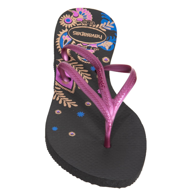 b13b94fb7 Havaianas Tria Print Flip-Flops (For Women) - Save 25%