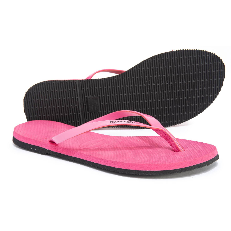 c3ca8cc00c0 Havaianas You Metallic Flip-Flops (For Women) in Shocking Pink ...