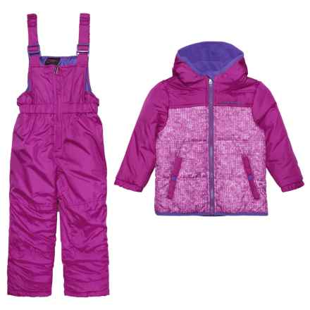 Hawke & Co 2-Piece Snowsuit - Insulated (For Infant Girls) in Magenta Purple - Closeouts