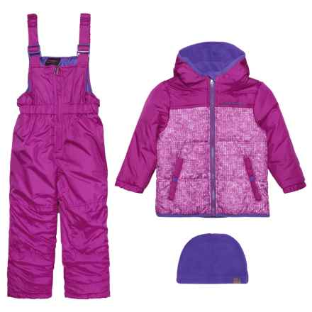 Hawke & Co 2-Piece Snowsuit - Insulated (For Toddler Girls) in Magenta Purple - Closeouts