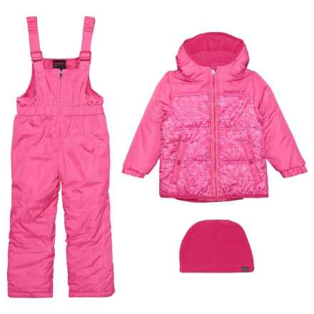Hawke & Co 2-Piece Snowsuit - Insulated (For Toddler Girls) in Pretty Pink - Closeouts