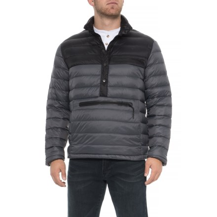 386c3cf2441 Hawke & Co Burman Pullover Puffer Jacket - Down Insulated (For Men) in Black