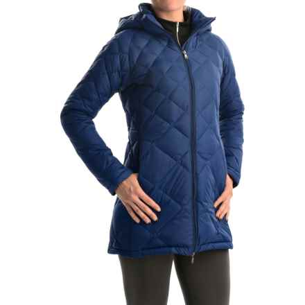 Hawke & Co Diamond Quilted Down Coat (For Women) in Royal - Closeouts