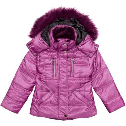Hawke & Co Expedition Jacket - Insulated (For Toddlers and Little Girls) in Perfect Pink - Closeouts