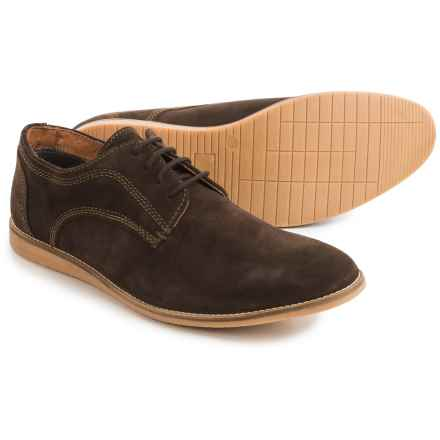 Hawke & Co Jeffrey Oxford Shoes - Suede (For Men) in Brown - Closeouts