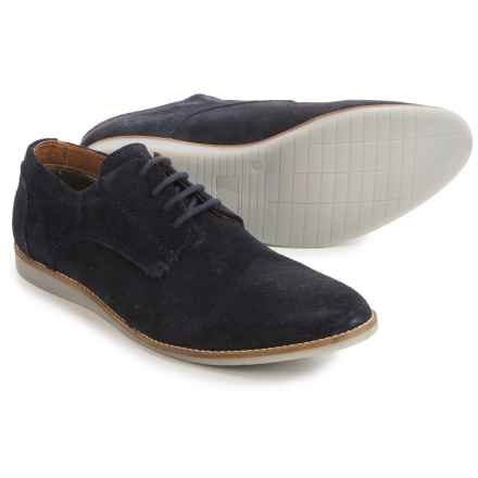 Hawke & Co Jeffrey Oxford Shoes - Suede (For Men) in Navy - Closeouts
