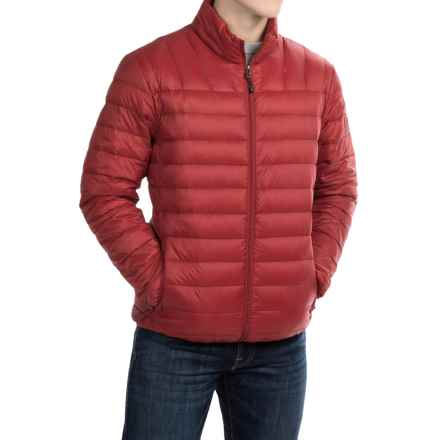 Hawke & Co Packable Down Jacket - 550 Fill Power (For Men) in Chili Pepper - Closeouts