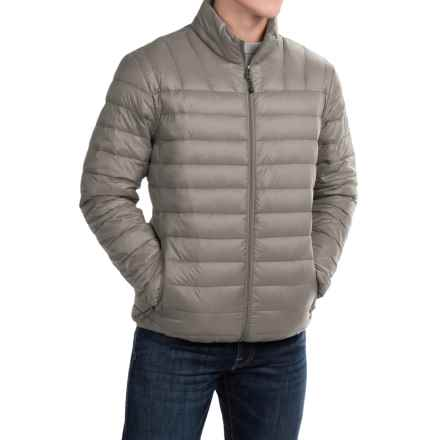 Hawke & Co Packable Down Jacket - 550 Fill Power (For Men) in Silver - Closeouts