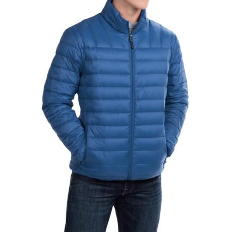 Hawke & Co Packable Down Jacket - 550 Fill Power (For Men) in True Blue