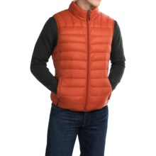Hawke & Co Packable Down Vest - 550 Fill Power (For Men) in Princeton Orange - Closeouts