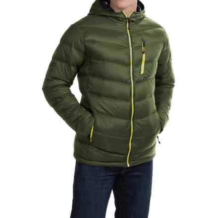 Hawke & Co Packable Hooded Down Jacket (For Men) in Kombu Green - Closeouts