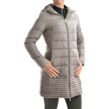 Hawke & Co Packable Hooded Down Puffer Coat (For Women) in Pearl - Closeouts