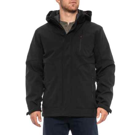 Hawke & Co Softshell Systems Jacket - 3-in-1, Insulated (For Men) in Black - Closeouts