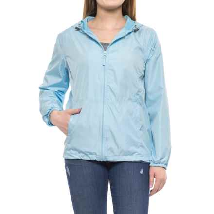 HB Sport Active Rain Jacket (For Women) in Blue - Closeouts