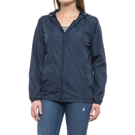 HB Sport Active Rain Jacket (For Women) in Navy