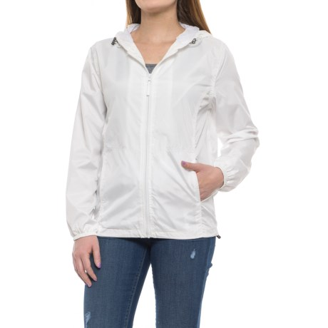 HB Sport Active Rain Jacket (For Women) in White