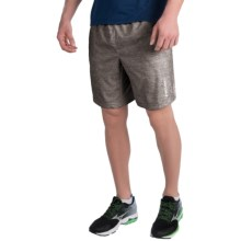 Head Ace Woven Shorts (For Men) in Asphalt Heather - Closeouts