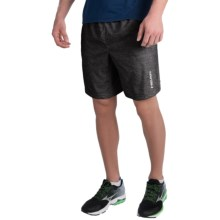 Head Ace Woven Shorts (For Men) in Black Heather - Closeouts