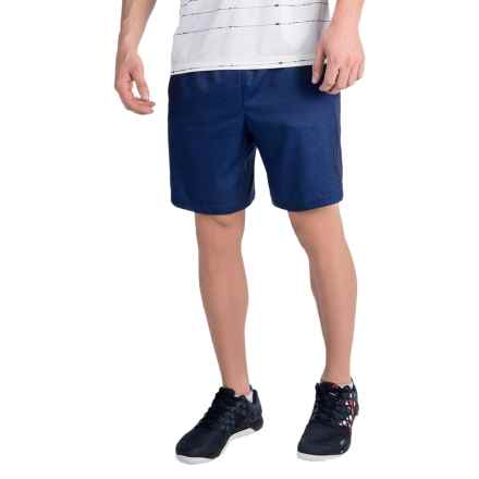 Head Ace Woven Shorts (For Men) in Medieval Blue Heather - Closeouts