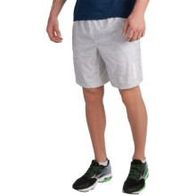 Head Ace Woven Shorts (For Men) in Microchip Heather - Closeouts