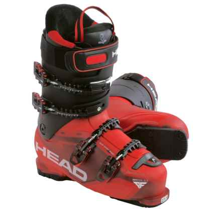 Head Adapt Edge 105 Alpine Ski Boots (For Men) in Red/Black - Closeouts