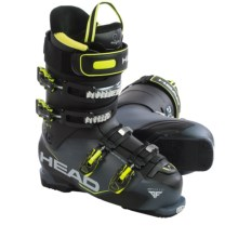 Head Adapt Edge 95 Alpine Ski Boots (For Men) in Anthracite/Black/Yellow - Closeouts