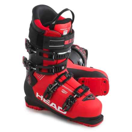 Head Advant Edge 105 Ski Boots in Red/Black - Closeouts